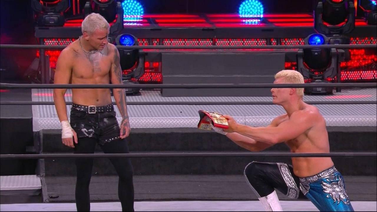 Darby Allin dethrones Cody to become AEW TNT Championship at Full Gear