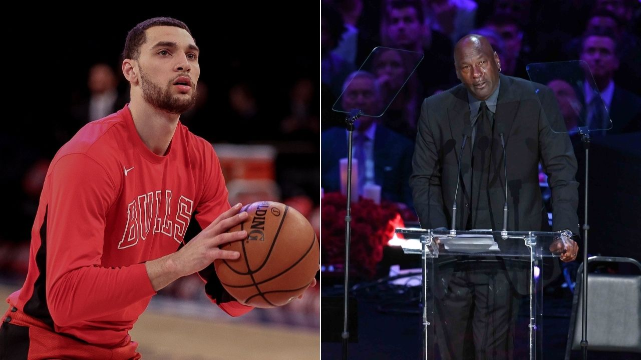 'Michael Jordan was still a bad MF': Zach LaVine slams Twitter handle for meme about the GOAT