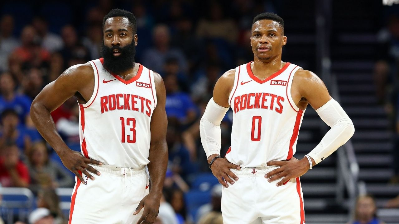 Rockets' Russell Westbrook releases statement on rift with James Harden
