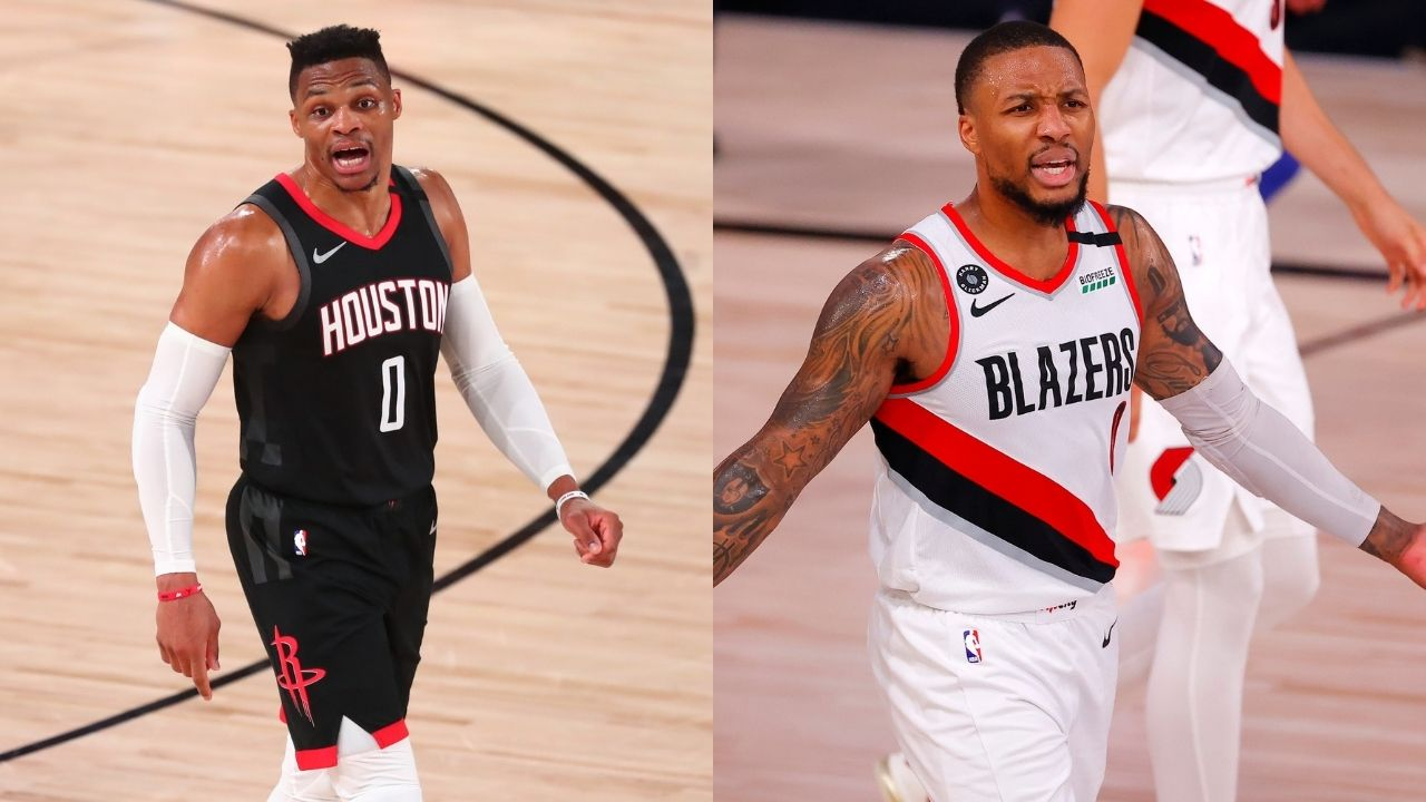'I f*** with Russ': Damian Lillard denies any bad blood between himself and Russell Westbrook