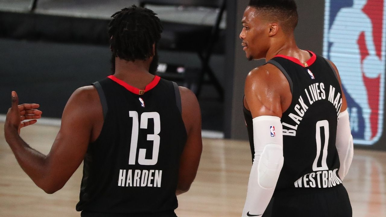 'Westbrook is blocking James Harden trade': Rockets want to trade Russ before shopping The Beard