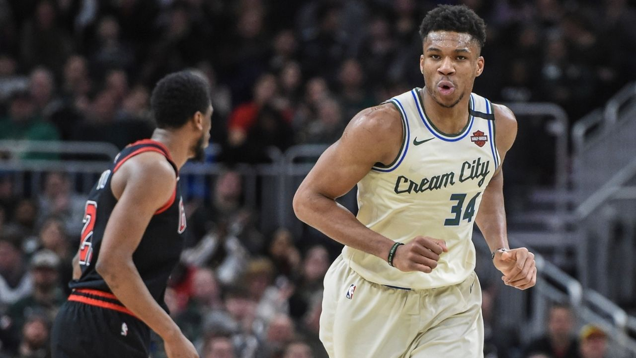Giannis Antetokounmpo responds to Heat trade claims by Nick Kyrgios