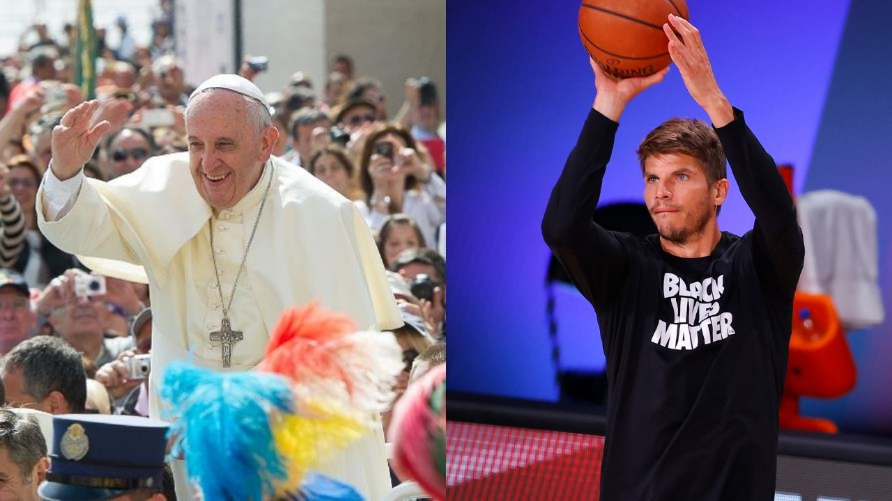 NBA players talk social justice with Pope Francis at Vatican