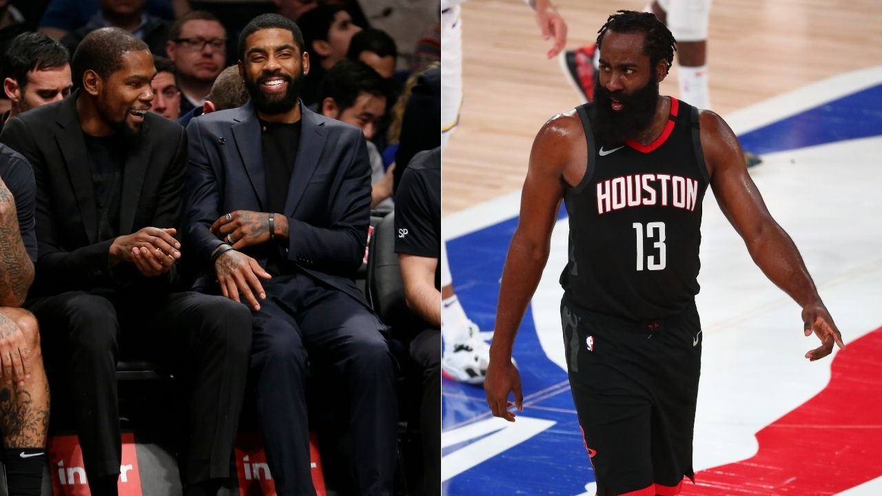 Skip Bayless on James Harden joining Kevin Durant and Kyrie Irving