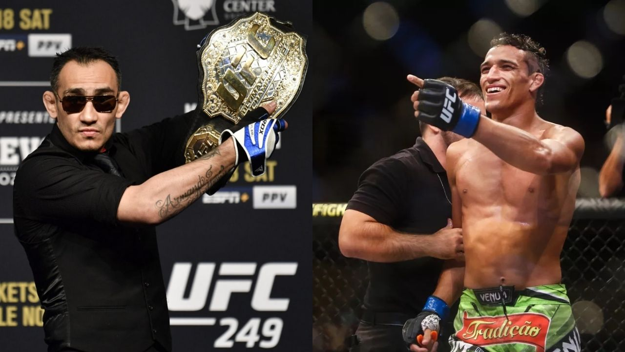 UFC News: Tony Ferguson and Charles Oliveira Are Booked For December 12 UFC 256