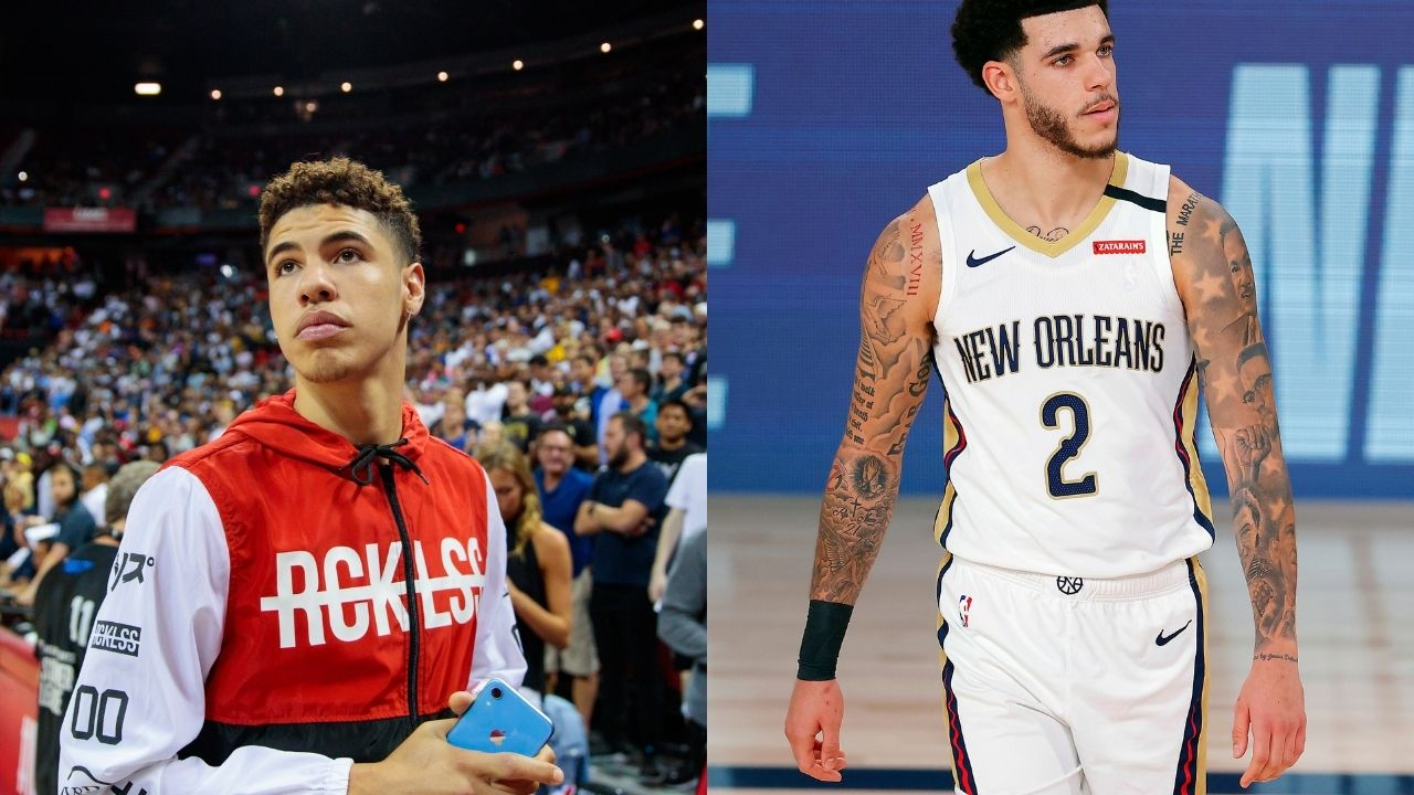'LaMelo has a tough night ahead of him': Lonzo Ball on his brother in first Pelicans/Hornets game