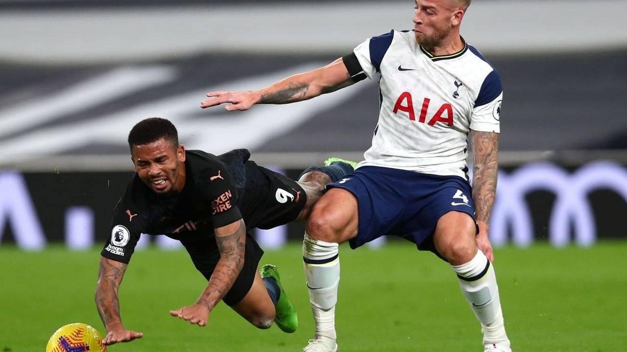 """It's bad. It's a muscular injury"" : Mourinho Provides Update On Toby Alderweireld's Injury"