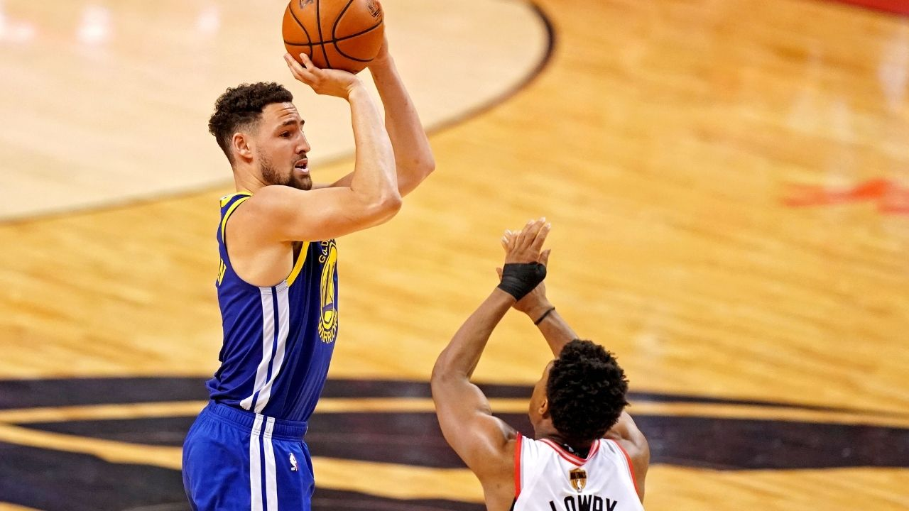 """Klay Thompson out for the 2020-21 NBA season""- Klay joins Steph Curry, Kevin Durant in list of Warriors with season ending injuries"