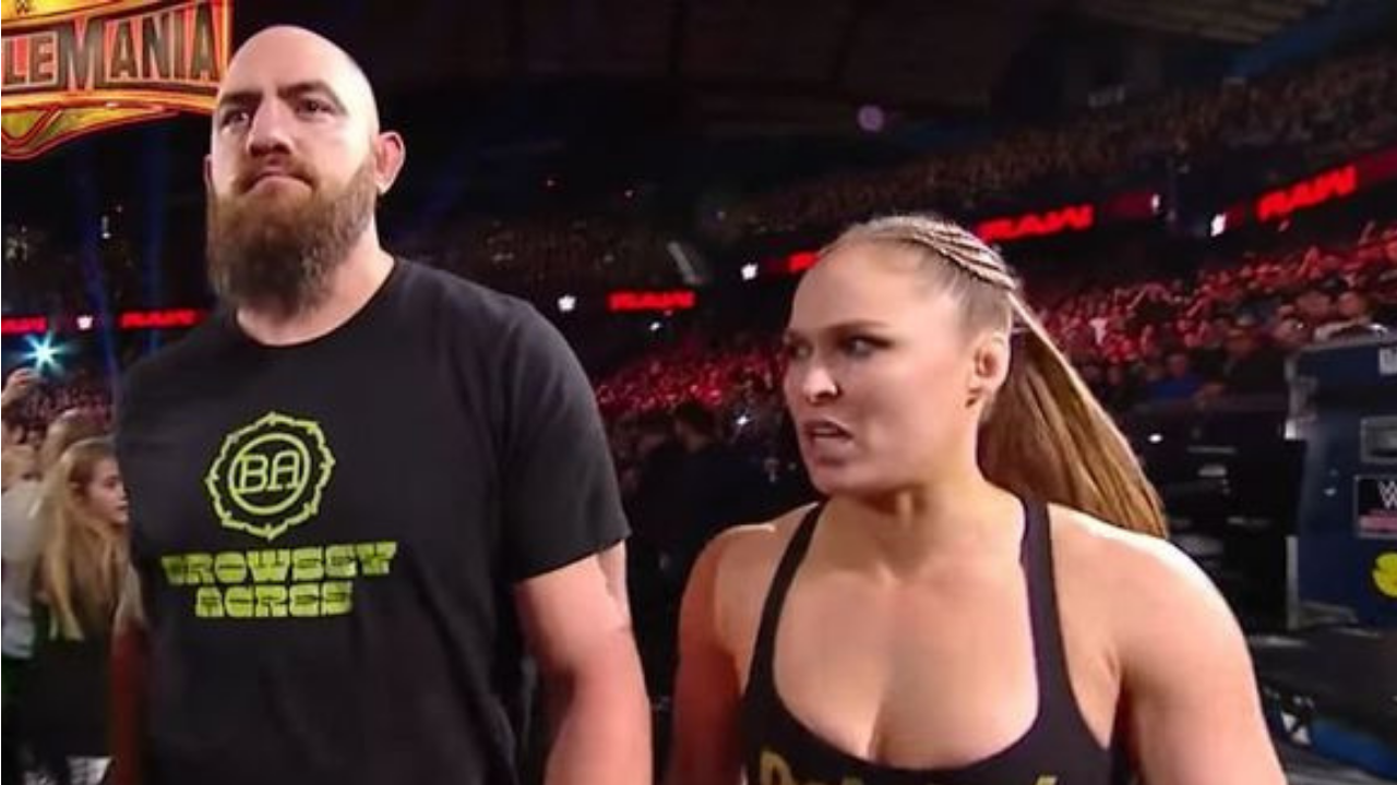 Ronda Rousey training for WWE return with husband Travis Browne