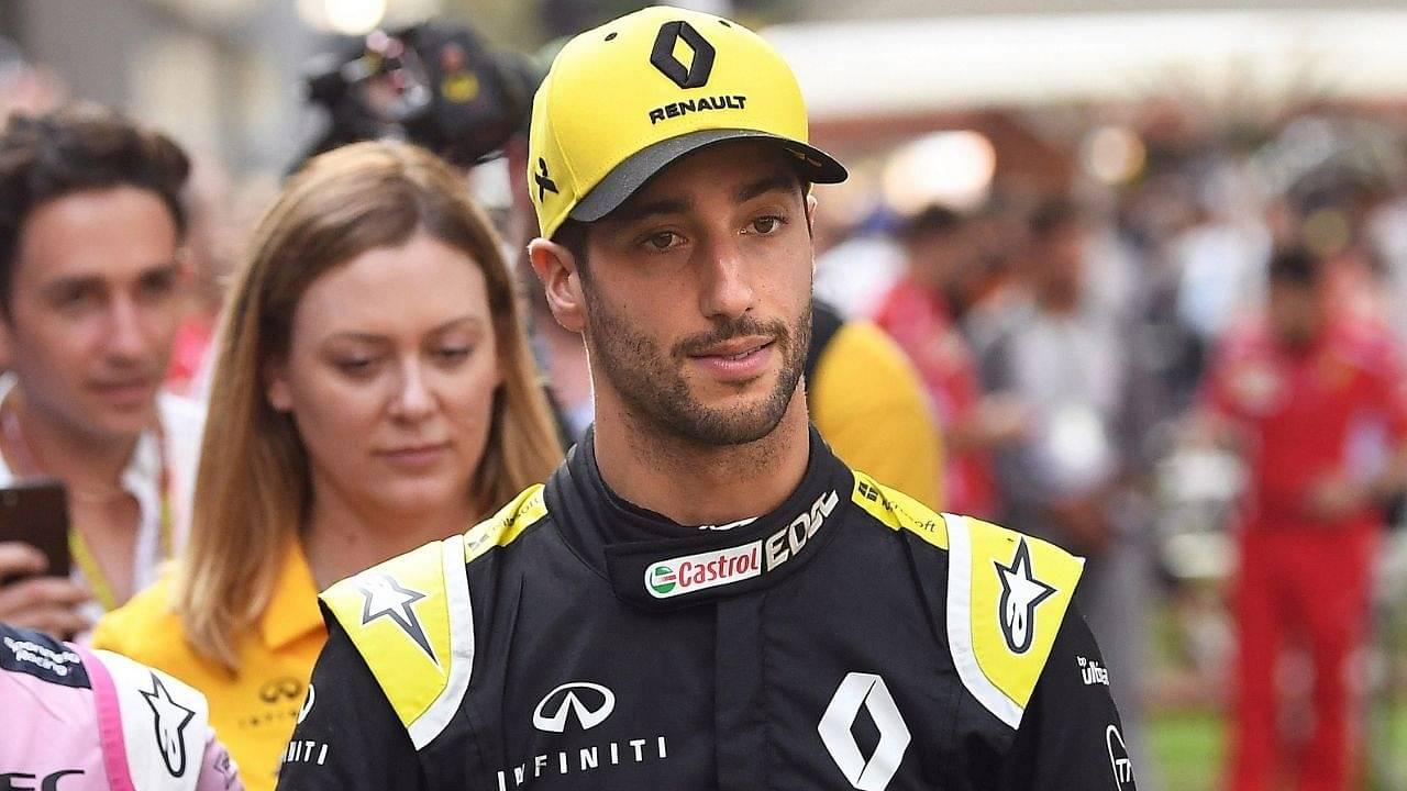 """We're the underdog but it's still doable""- Daniel Ricciardo confident of Renault achieving this milestone despite the odds"