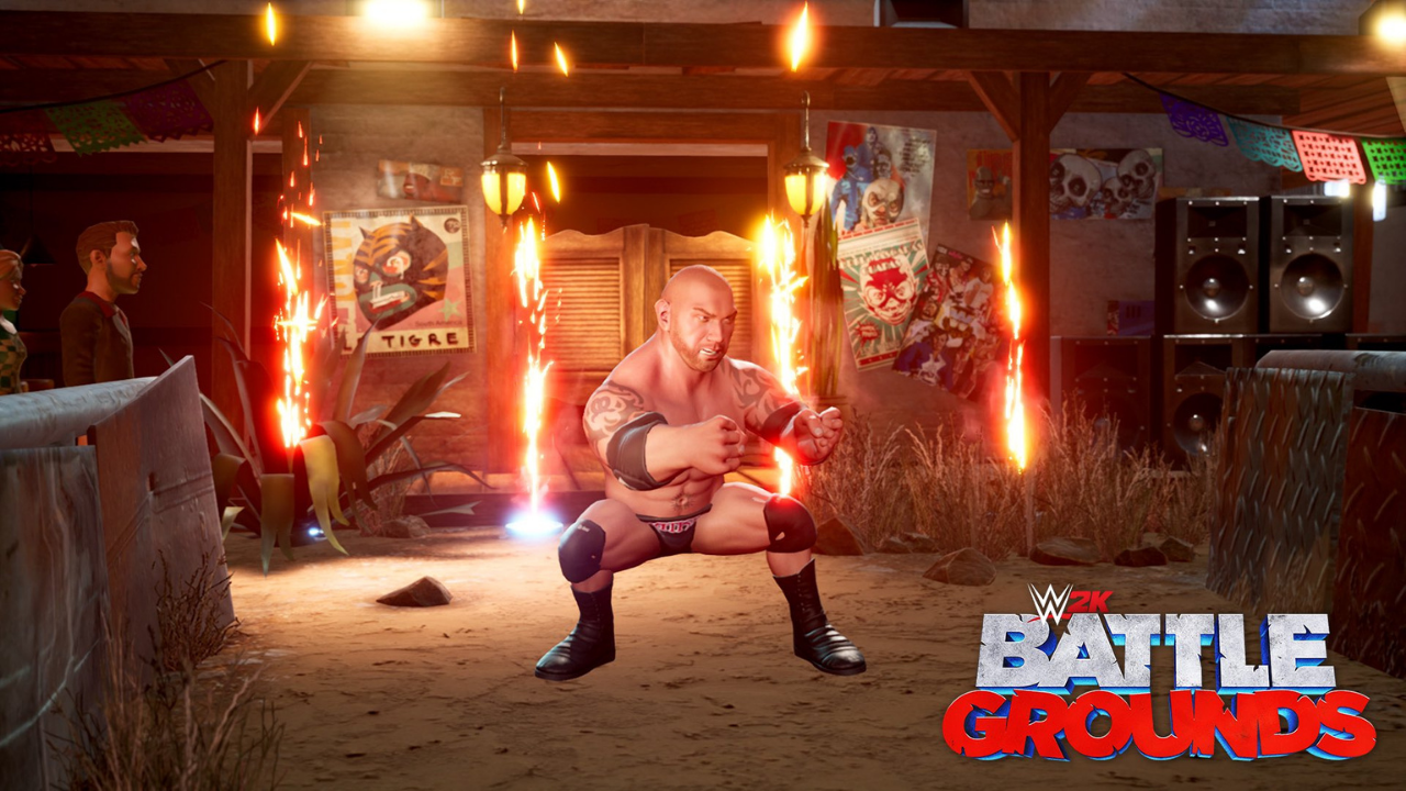 WWE 2K Battlegrounds adds 10 new characters including Goldberg and Dave Batista!