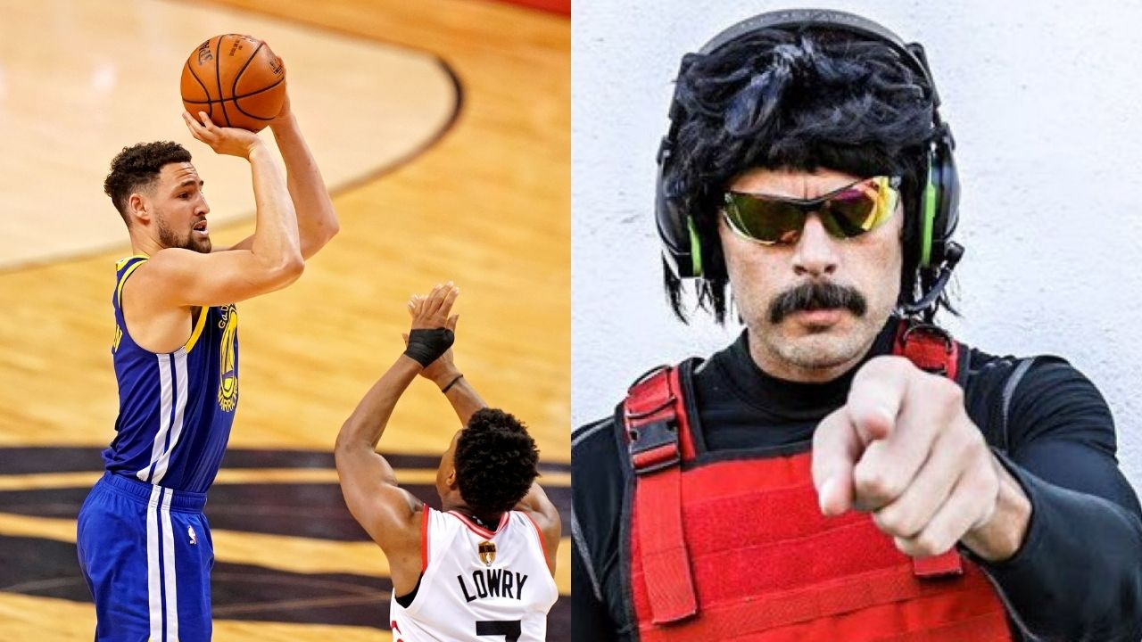 """""""Klay Thompson worked his a** off from Knee Injury"""", Dr Disrespect is confident GSW Star will bonce back from ACL injury"""