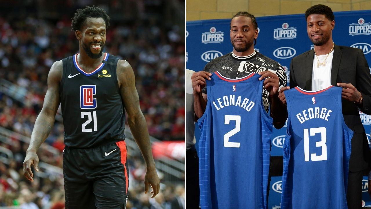 Patrick Beverley's hilarious reaction to Kawhi Leonard and PG13 joining Clippers