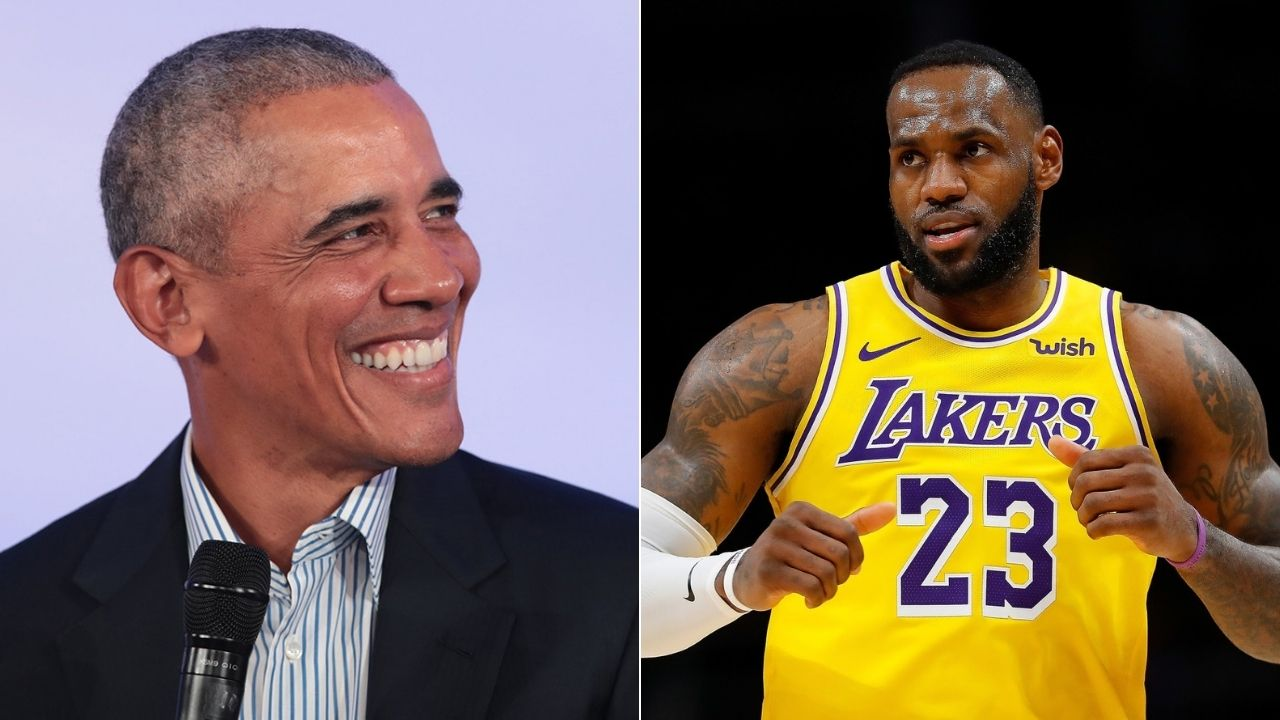 'I got Anthony Davis to Lakers to do all the work for me': LeBron James tells Barack Obama