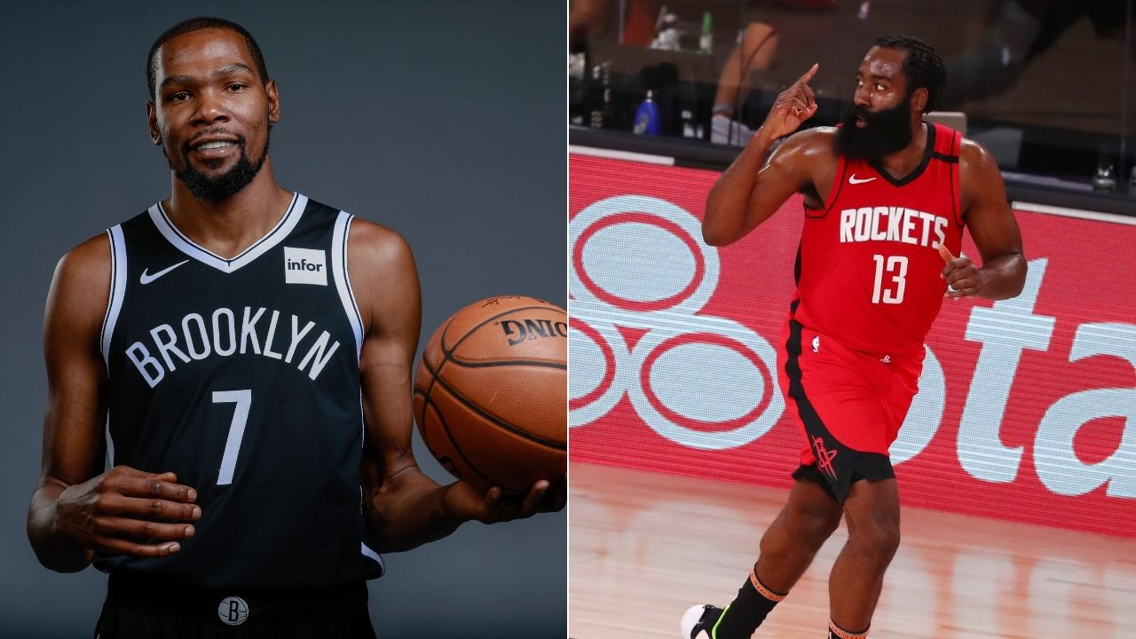 James Harden wants to play with Kevin Durant