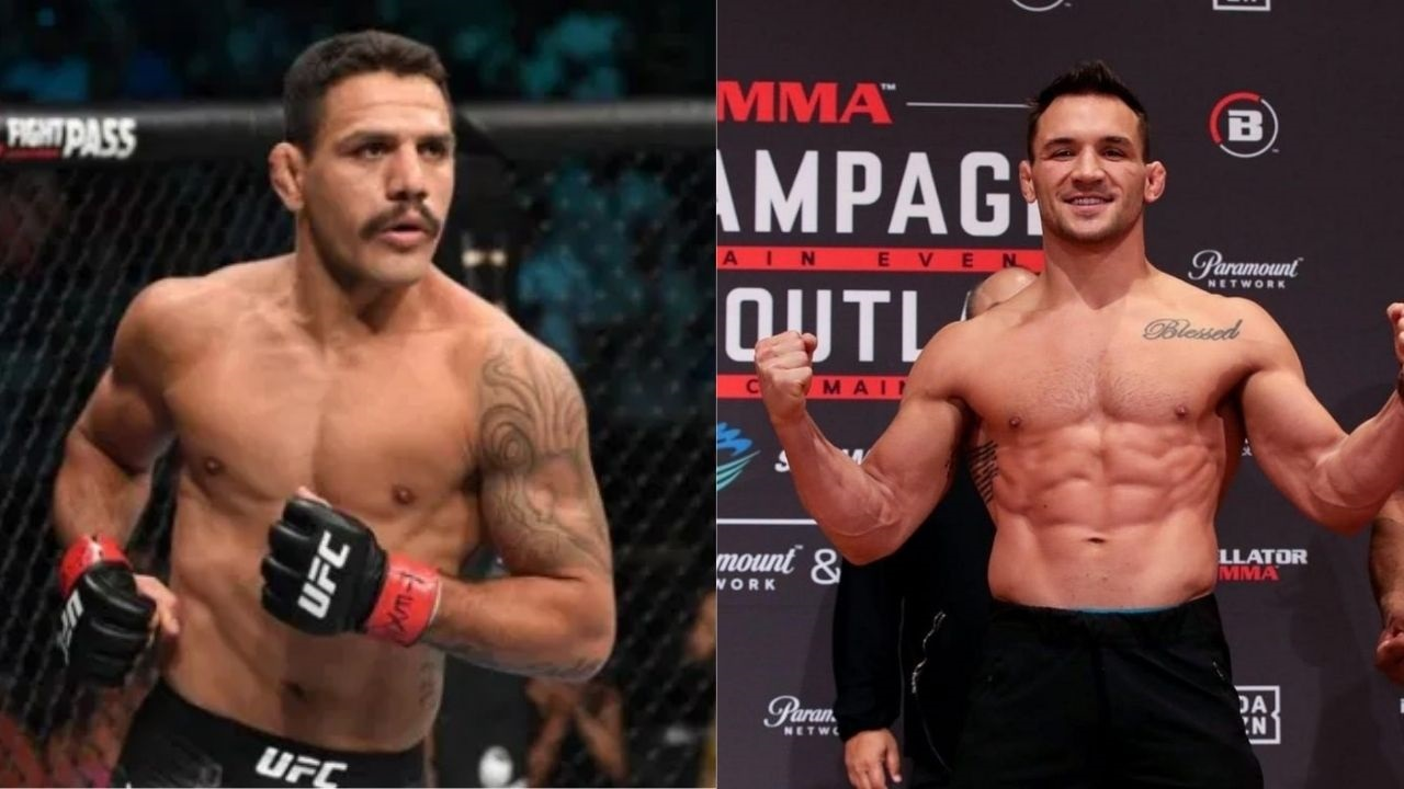 'Shame on you'-Rafael dos Anjos Criticizes Michael Chandler For Refusing To Fight Against Him; Chandler Responds