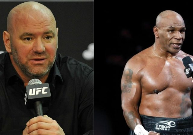 'He looked fu****g awesome': Dana White On Mike Tyson's Comeback In The Boxing Ring