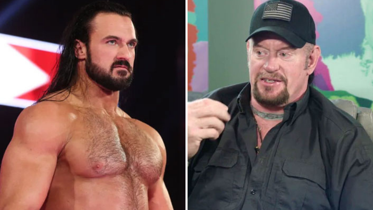 Drew McIntyre recounts amusing incident with The Undertaker