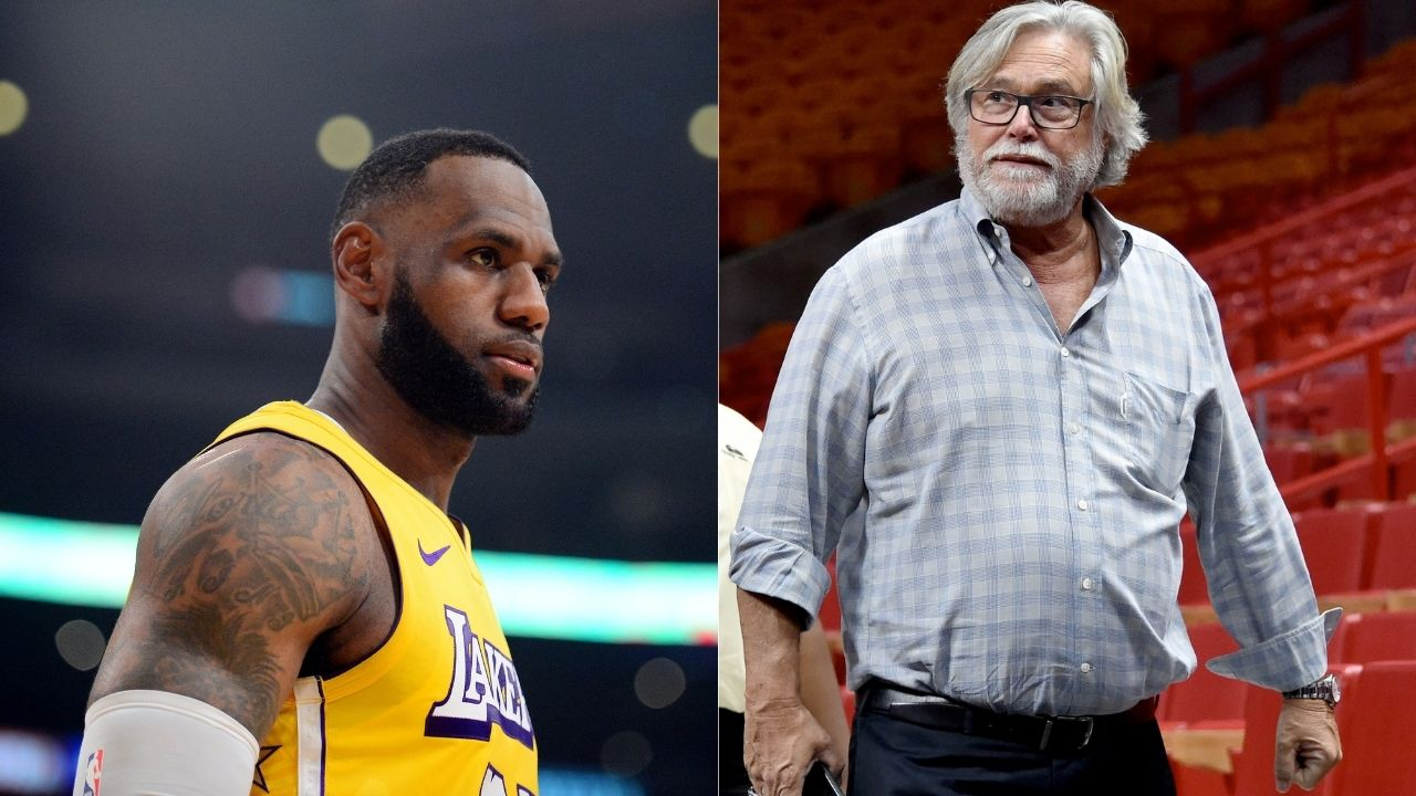 'LeBron James is in legal dispute with Miami Heat owner': Lakers star prevents Micky Arison from using his nickname