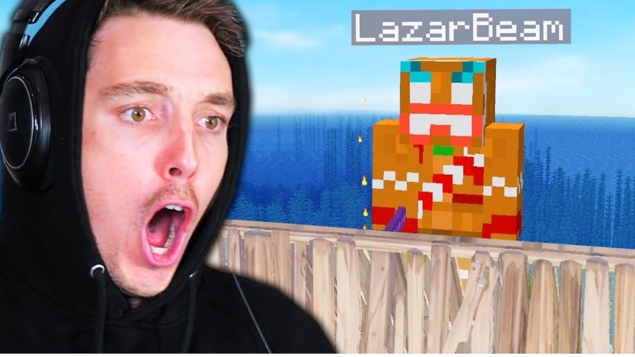 """How to use Among Us Mods without ruining the game""; Lazarbeam shows the way"