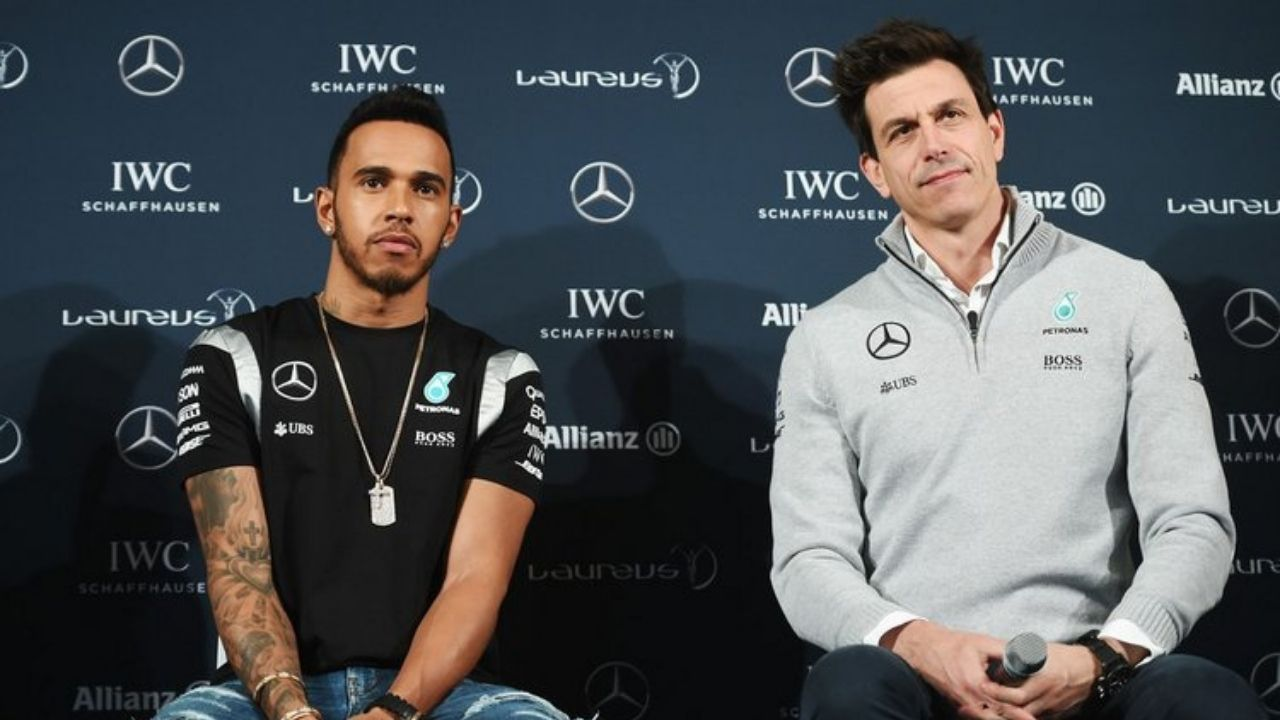 """""""He is obviously polarising but that is OK""""- Toto Wolff backs Lewis Hamilton's alleged extreme activism"""