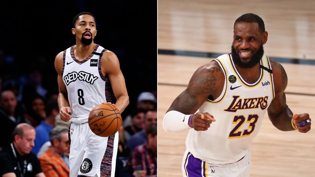 """Which Western Conference teams want me?"""": Nets' Spencer Dinwiddie hilariously puts Lakers and co. on alert"""