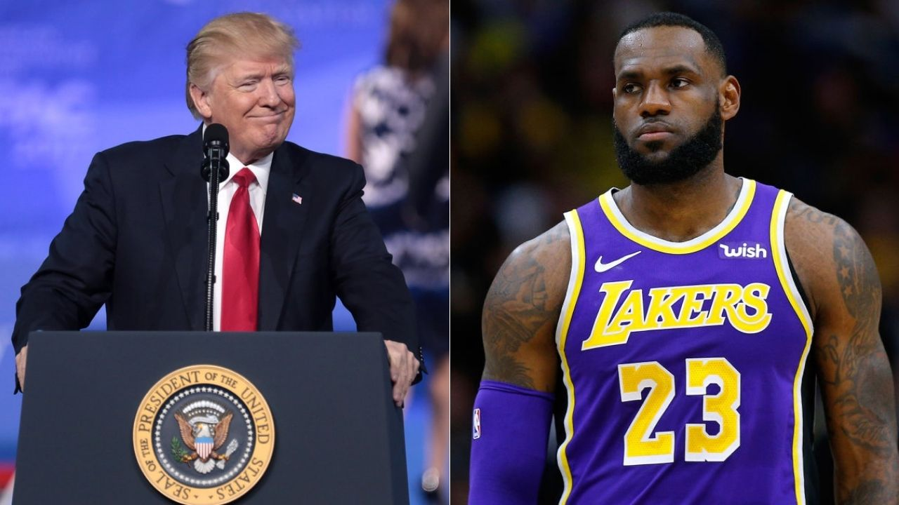 "LeBron James sucks"": Donald Trump's supporters at Pennsylvania rally"