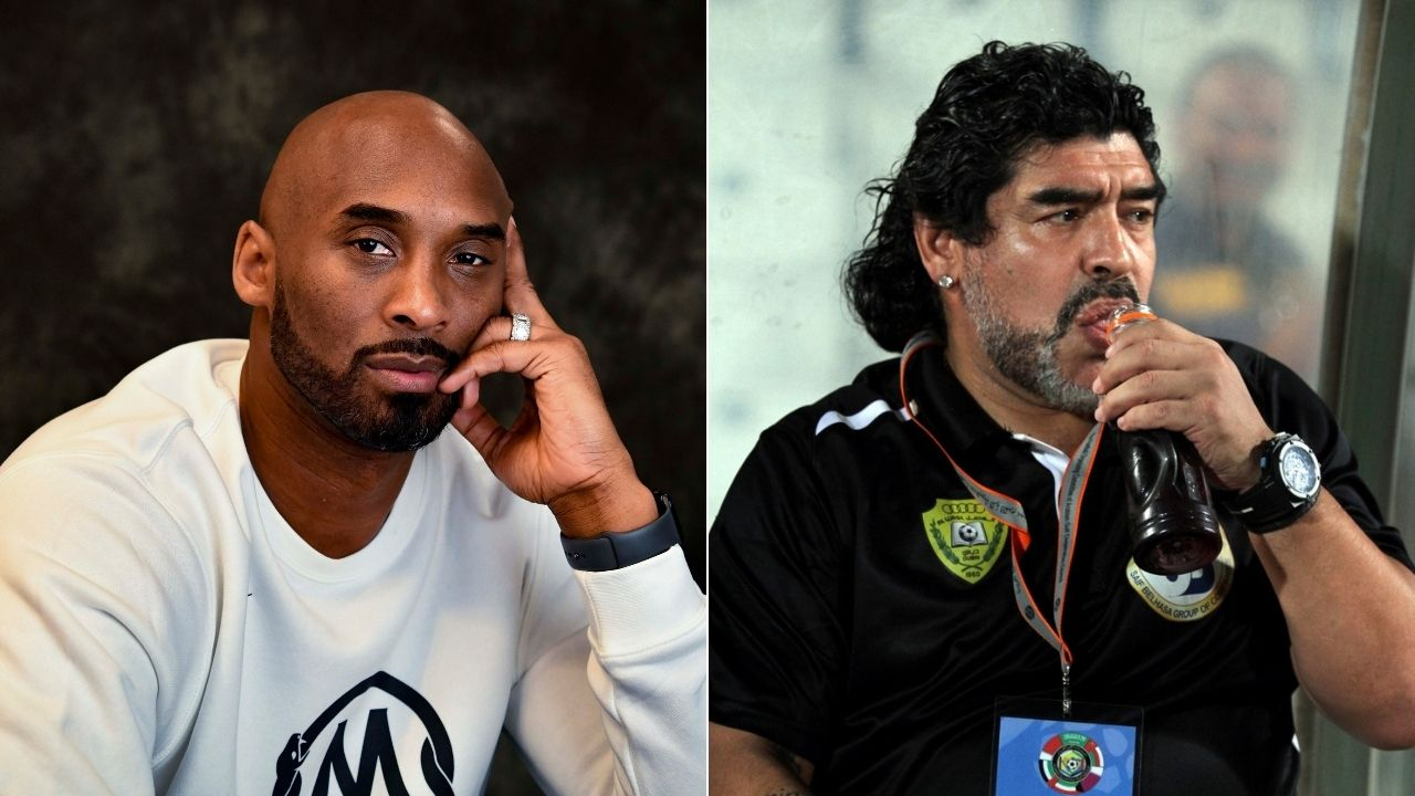 'Diego Maradona was Kobe Bryant's idol': How there was mutual respect between Lakers legend and football great