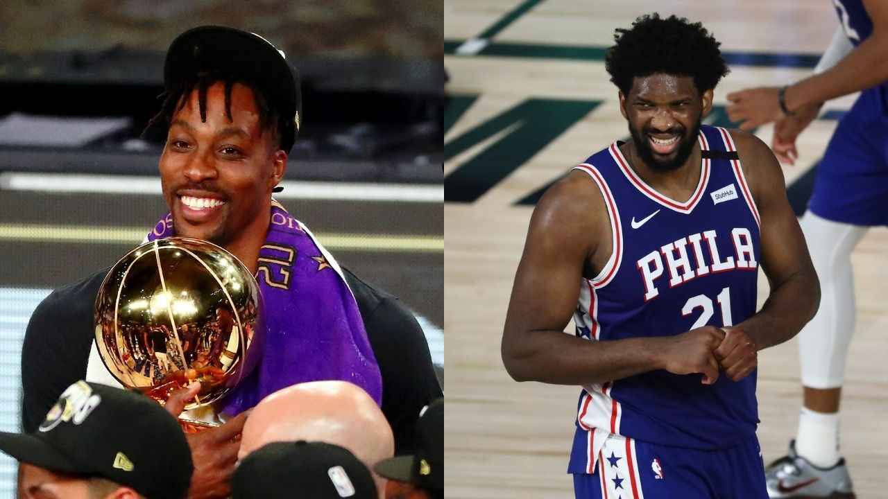 'I saw Joel Embiid cry': Former Lakers center Dwight Howard on why he joined the Sixers