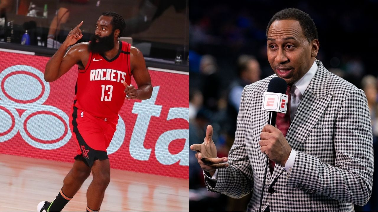 'James Harden is not beating the Lakers': Stephen A Smith gives rationale for Rockets star to move to Nets