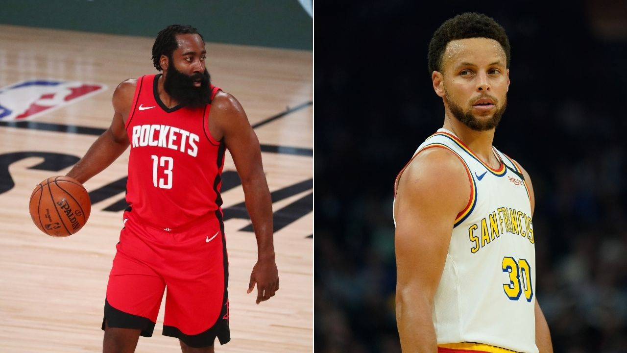 James Harden told Warriors' Steph Curry he hated Rockets' isolation offense