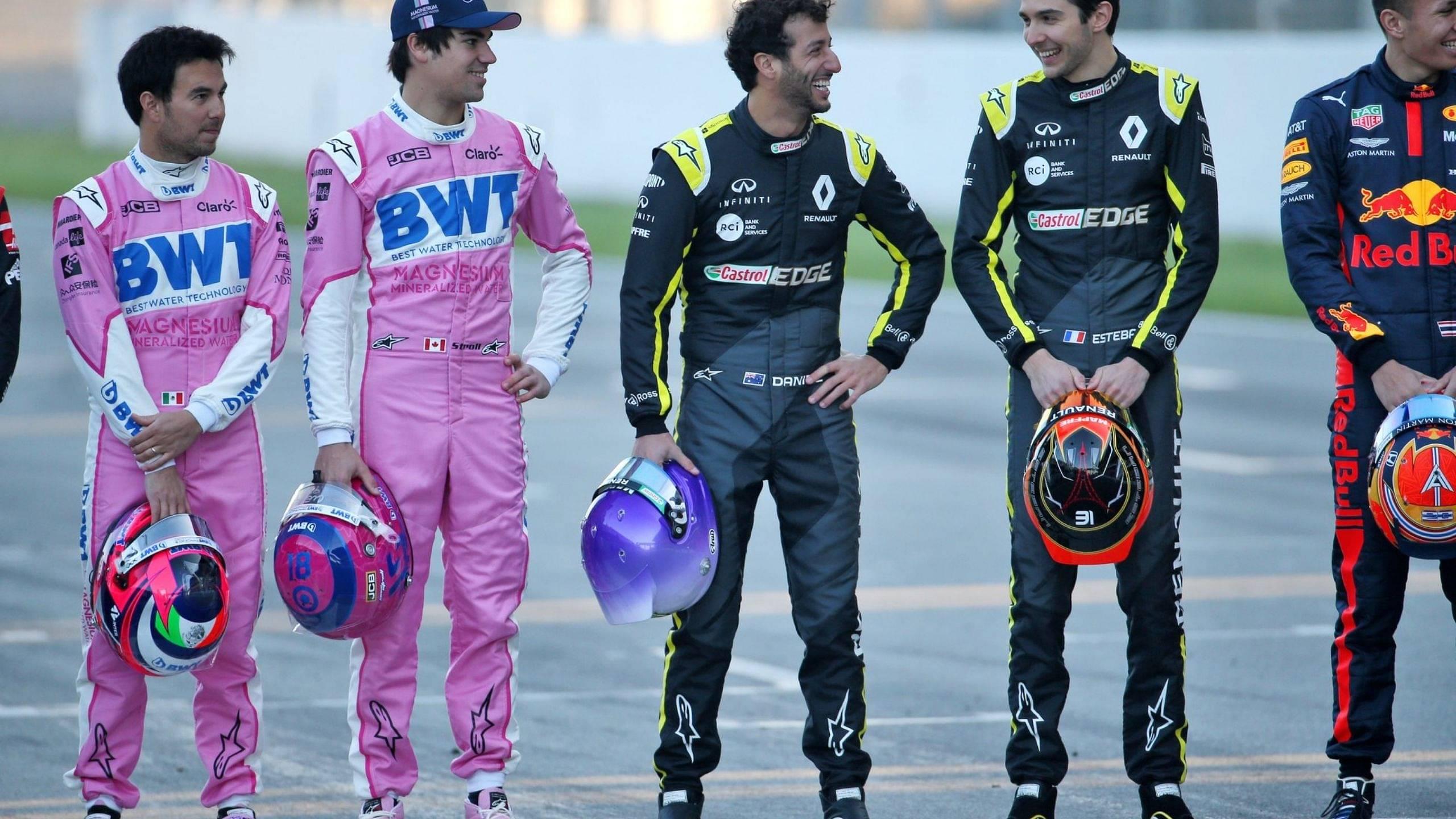 """Get him into turn one"" - Renault duo Daniel Ricciardo and Esteban Ocon ready to challenge Sergio Perez at Bahrain Grand Prix"