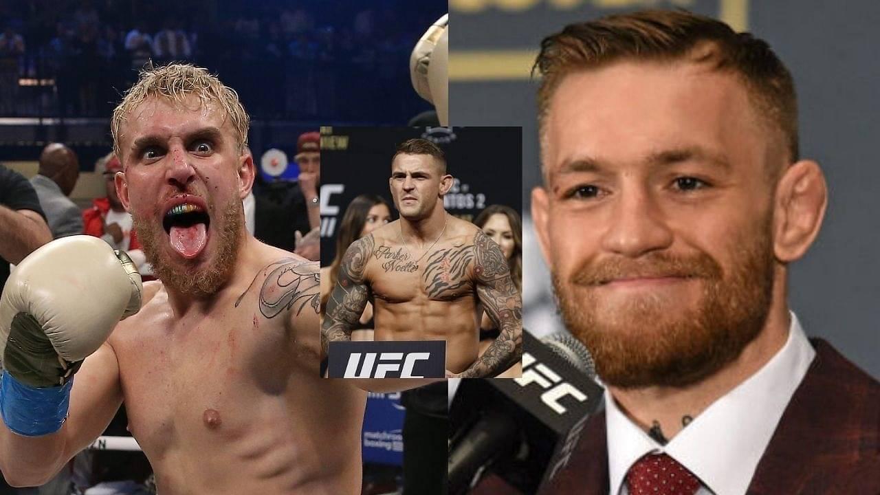 Jake Paul Claims 'He'd Knockout Conor McGregor'; Dustin Poirier Reacts
