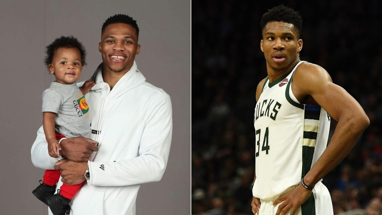 When Giannis Antetokounmpo asked Russell Westbrook if he could interact with his son