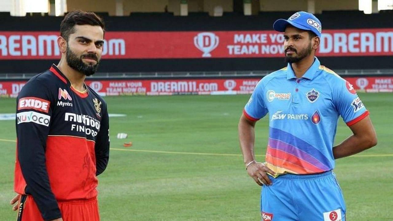 DC vs RCB Head to Head Records   Delhi Capitals vs Royal Challengers Bangalore H2H Stats   IPL 2020 Match 55