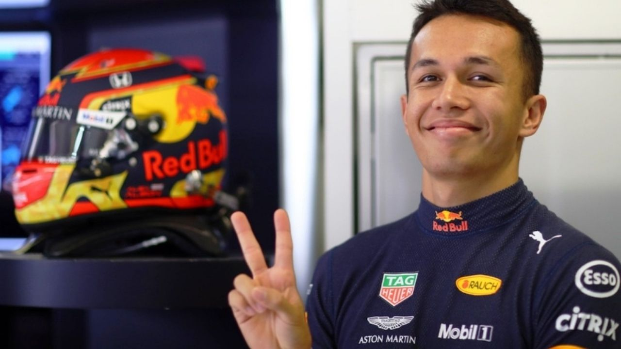 """""""We are going to hang out by the pool for three days""""- Delighted Alex Albon after winning podium in Bahrain"""