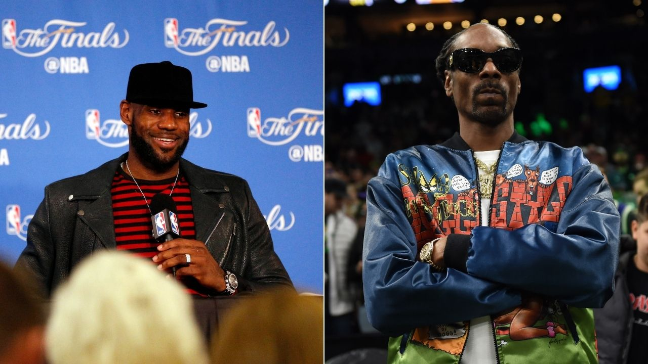 """Oh Lord, have mercy"": LeBron James loves Snoop Dogg's hilarious commentary for Jake Paul vs Nate Robinson fight"