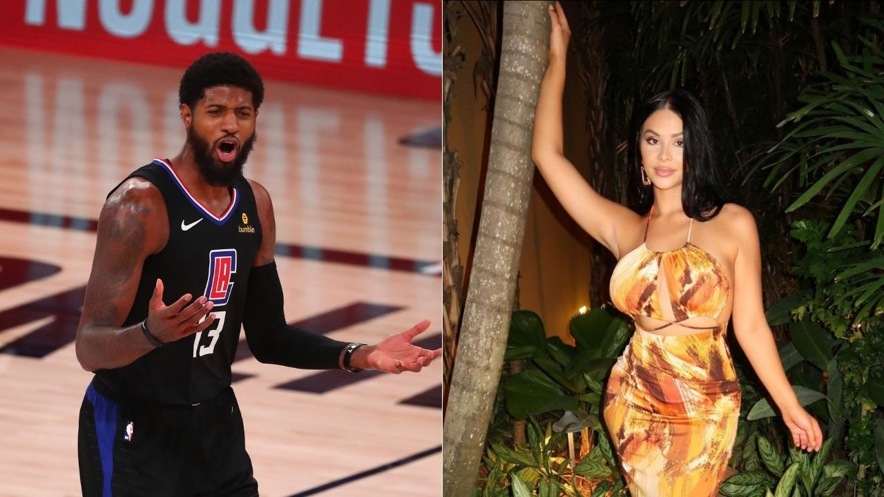 Clippers' Paul George mocks himself on Instagram after engagement with Daniela Rajic