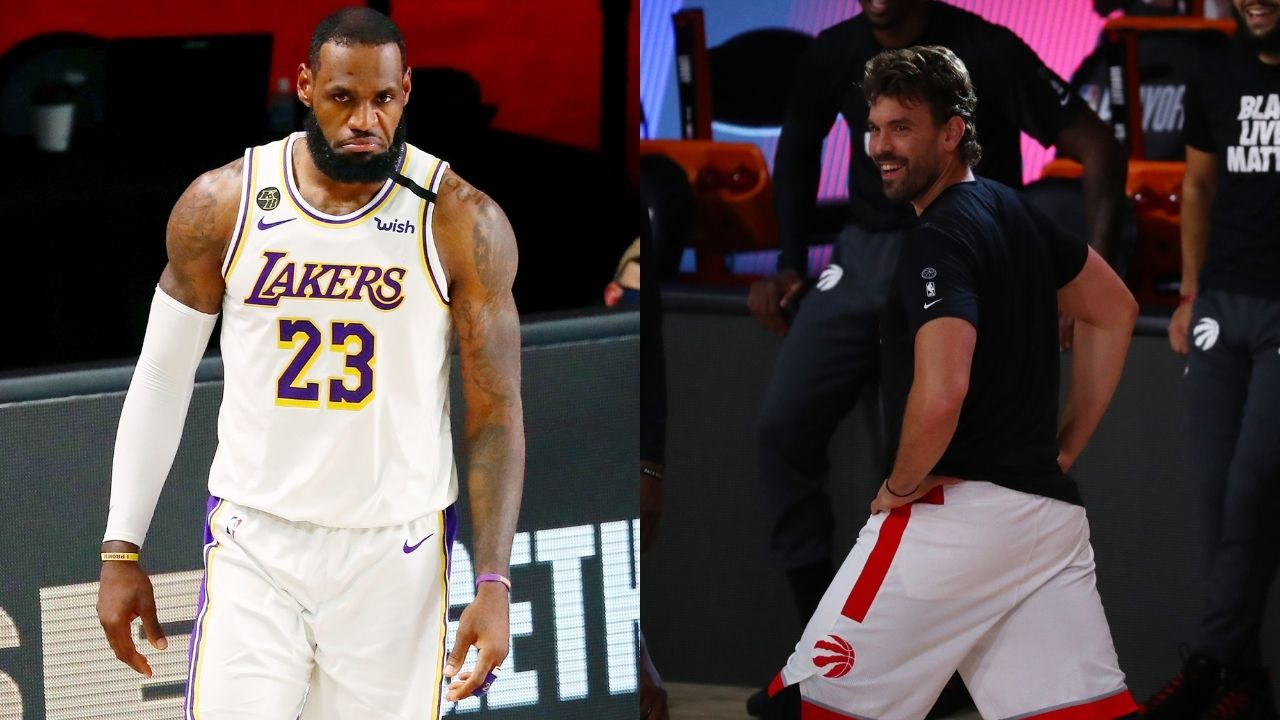 Marc Gasol reveals what excites him most about playing with LeBron James and Anthony Davis on the Lakers
