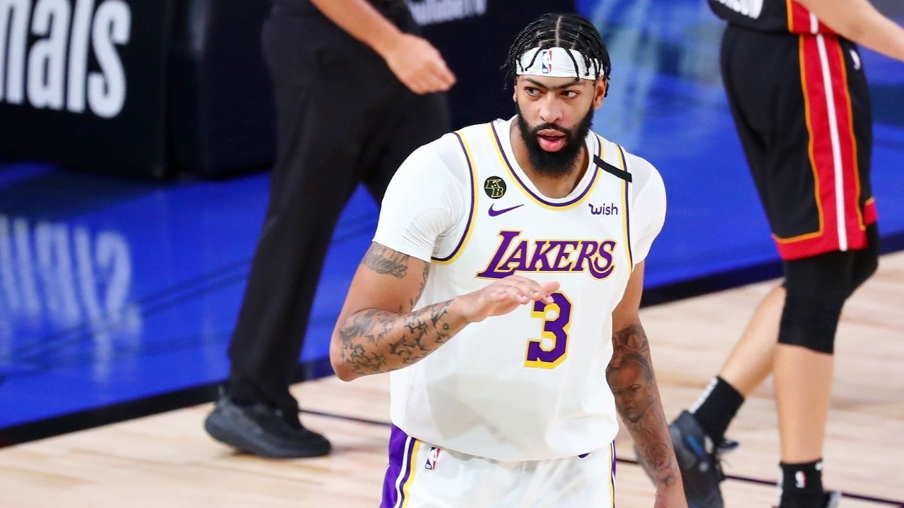 Anthony Davis makes Lakers fan skip a heart beat with comments on free agency