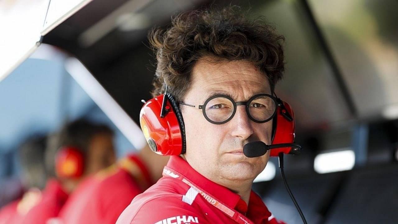 """""""Ferrari will not be able to fight for the world title in 2021""""- Mattia Binotto on Ferrari's future course"""