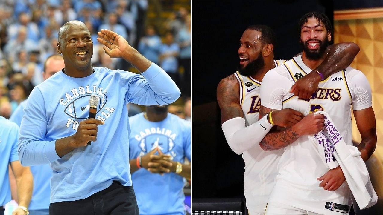 Michael Jordan is LeBron James' favourite player': Anthony Davis