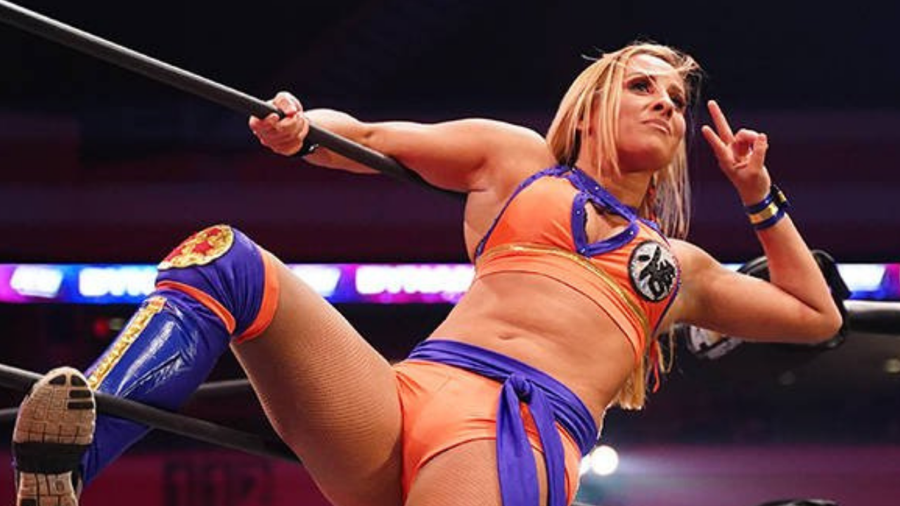 AEW's Shanna sets her Twitter to private after being called out for Islamophobia