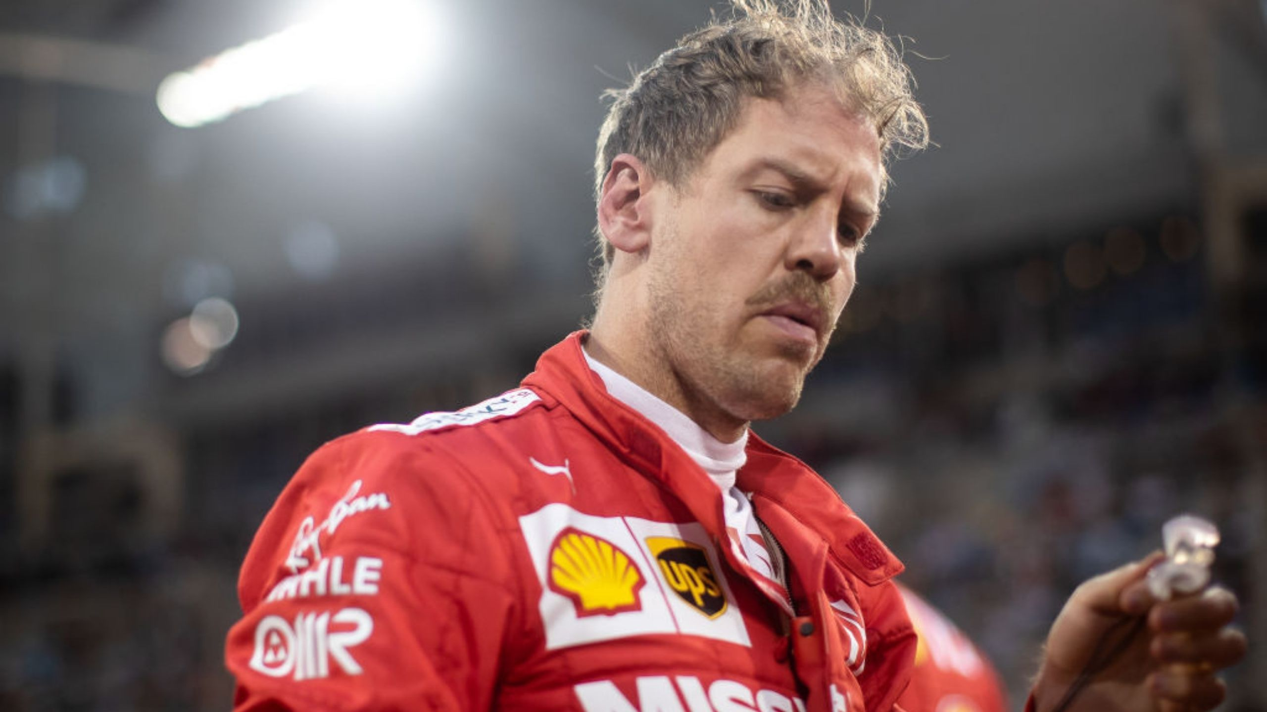 """""""That is the attraction"""" - Ferrari driver Sebastian Vettel reveals what makes him stand out in the rain"""