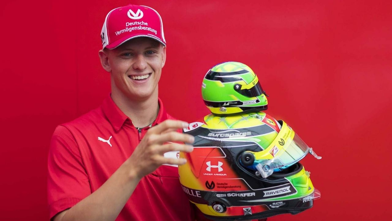 """""""Of course I use some of my father's tips""""- Mick Schumacher on his father mentoring him"""