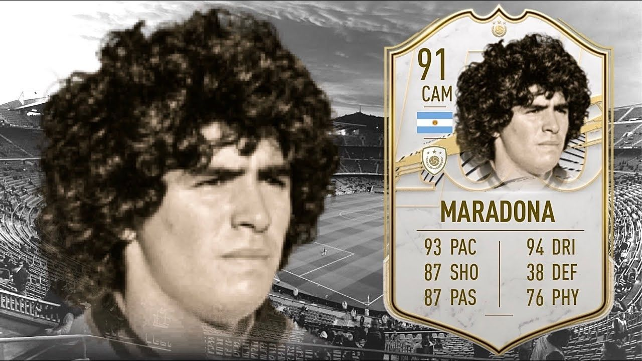Diego Maradona Fifa 21: How can you play with Diego Maradona in Fifa 21?