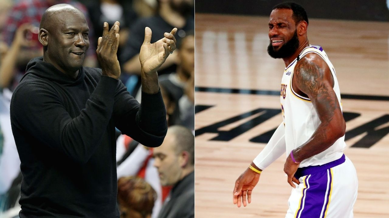 When people compare LeBron James with Michael Jordan, I vomit