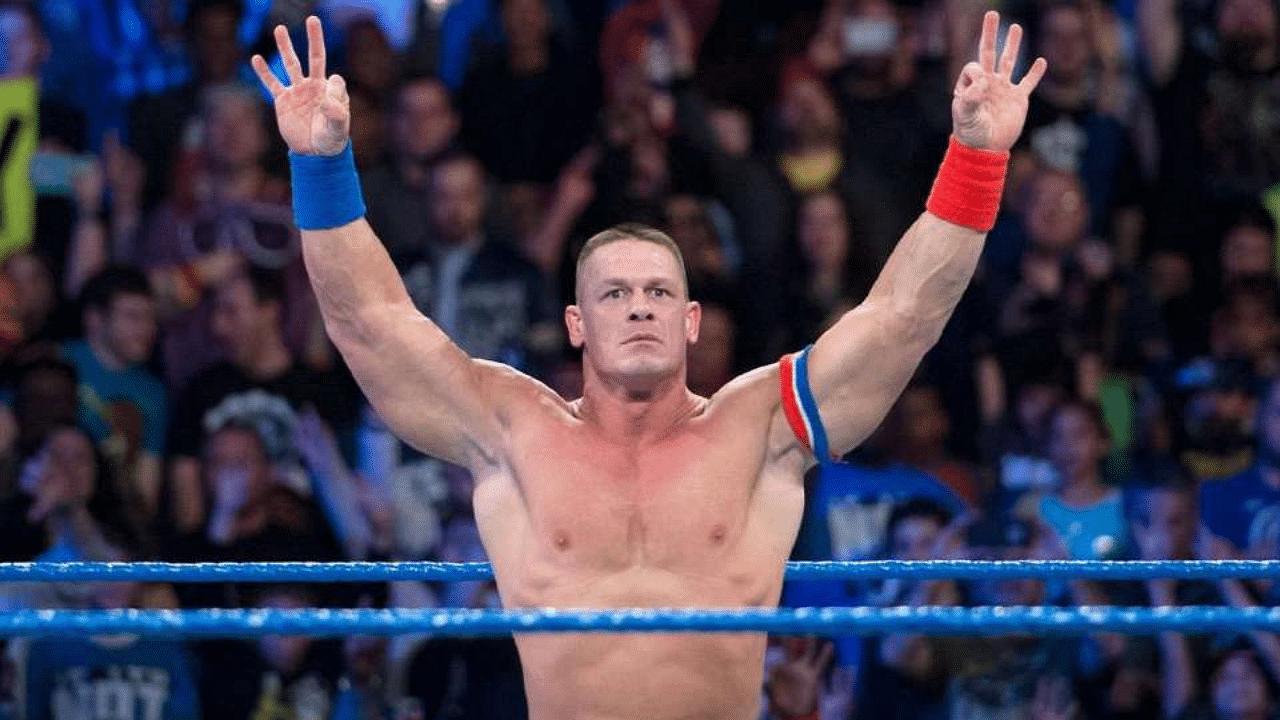 Boxer Rashidi Ellis channels John Cena during fight