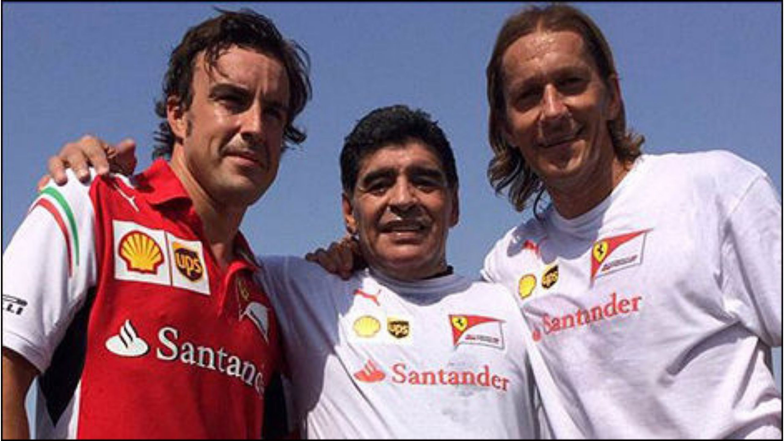 The day Diego Maradona made two-time F1 champion and Ferrari star Fernando Alonso play football with him