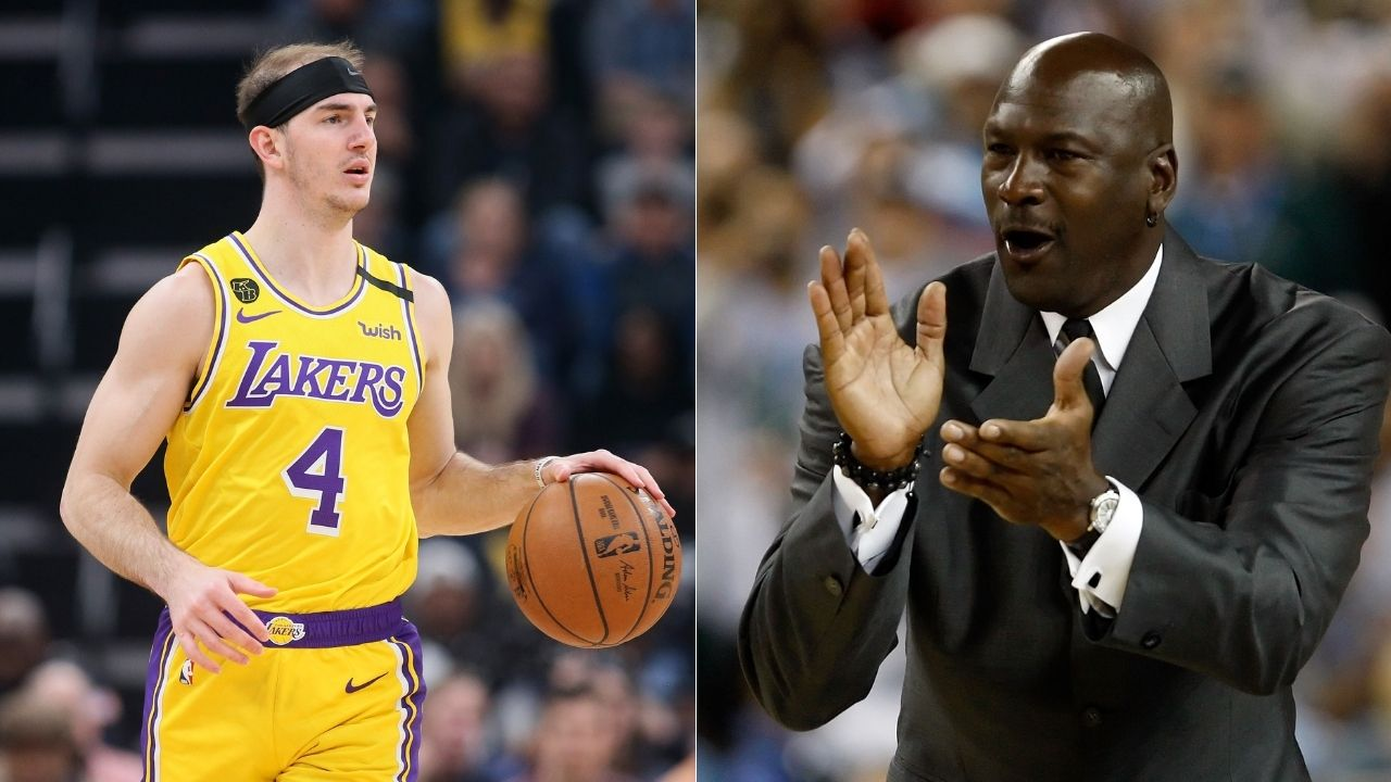Michael Jordan's Last Dance was like a drug': Lakers' Alex Caruso